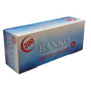 Sigaretten filterhulzen Banko 200 Hulzen