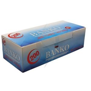 Cigarette filter tubes Banko 200 Tubes