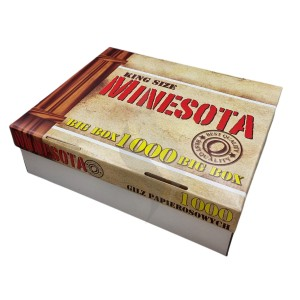 Sigaretten filterhulzen Minesota Big Box 1000 Hulzen