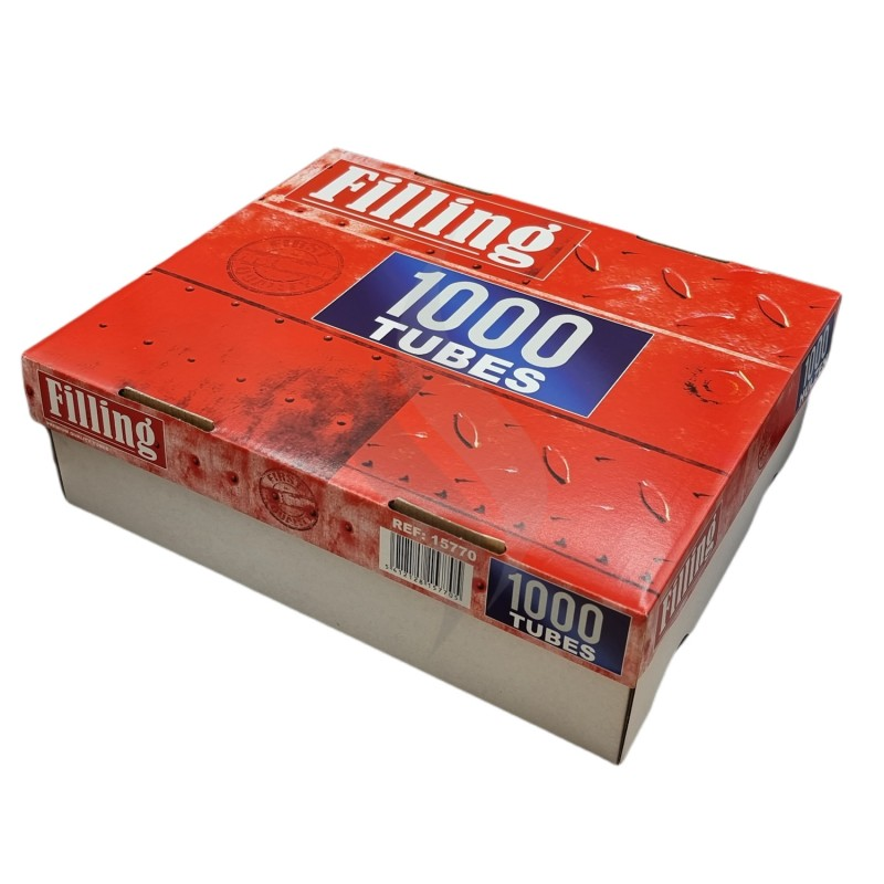 Sigaretten filterhulzen Filling HardBox 1000 Hulzen