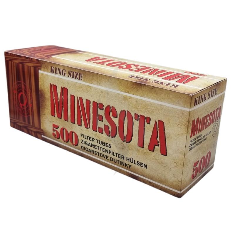Sigaretten filterhulzen Minesota 500 Hulzen
