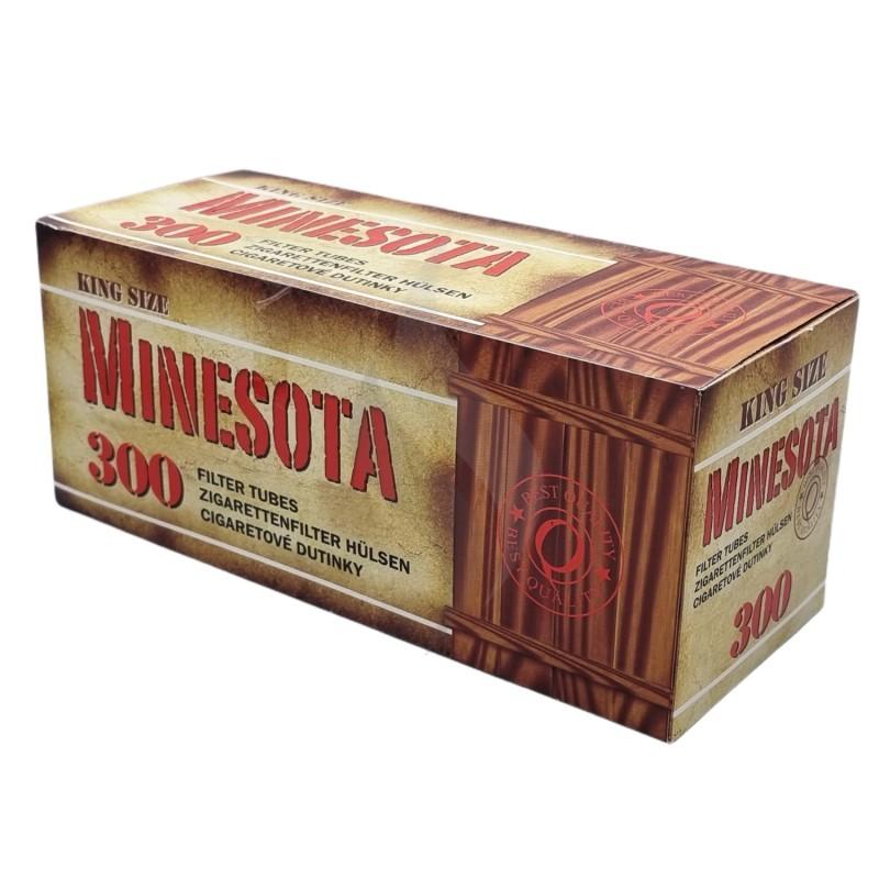 Cigarette filter tubes Minesota 300 Tubes