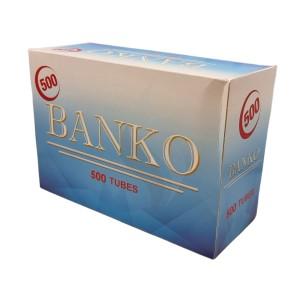 Cigarette filter tubes Banko 500 Tubes