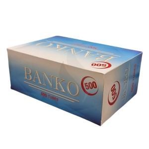 Sigaretten filterhulzen Banko 500 Hulzen