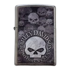 Briquet & Cendrier Zippo Harley Davidson Skulls