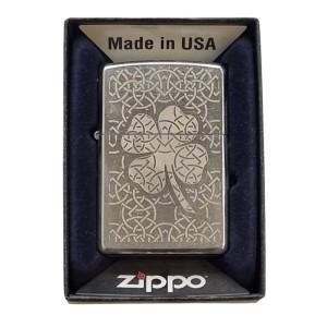 Aansteker & Asbakken Zippo Leaf Clover