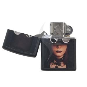 Lighter & Ashtray Zippo Steampunk Lady