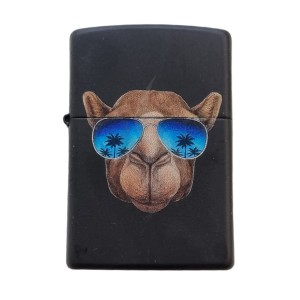Briquet & Cendrier Zippo Camel With Blue Sunglasses