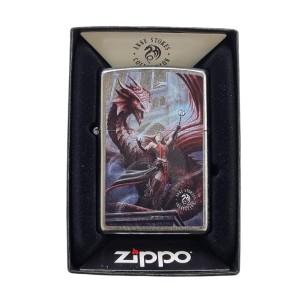 Lighter & Ashtray Zippo Anne Stokes Collection