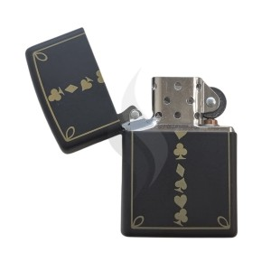 Briquet & Cendrier Zippo Card Suits