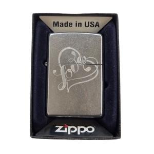 Briquet & Cendrier Zippo Love Theme