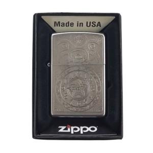 Briquet & Cendrier Zippo Clock