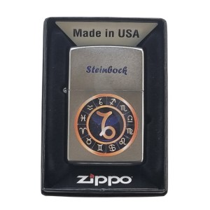 Lighters Zippo Zodiac Circle Steinbock