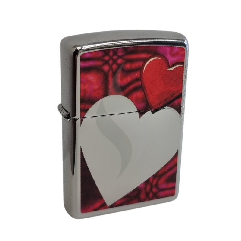 Briquet & Cendrier Zippo Valentine Full Face